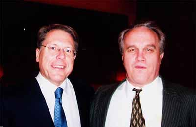 Western Massachusetts Gun Rights Lawyer Stephen Burke with Wayne LaPierre of the NRA